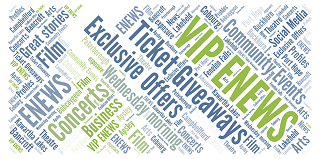 Sign up for our VIP Enews