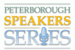 The Peterborough Speaker Series takes place on Wednesday, April 10, 2013 at The Market Hall