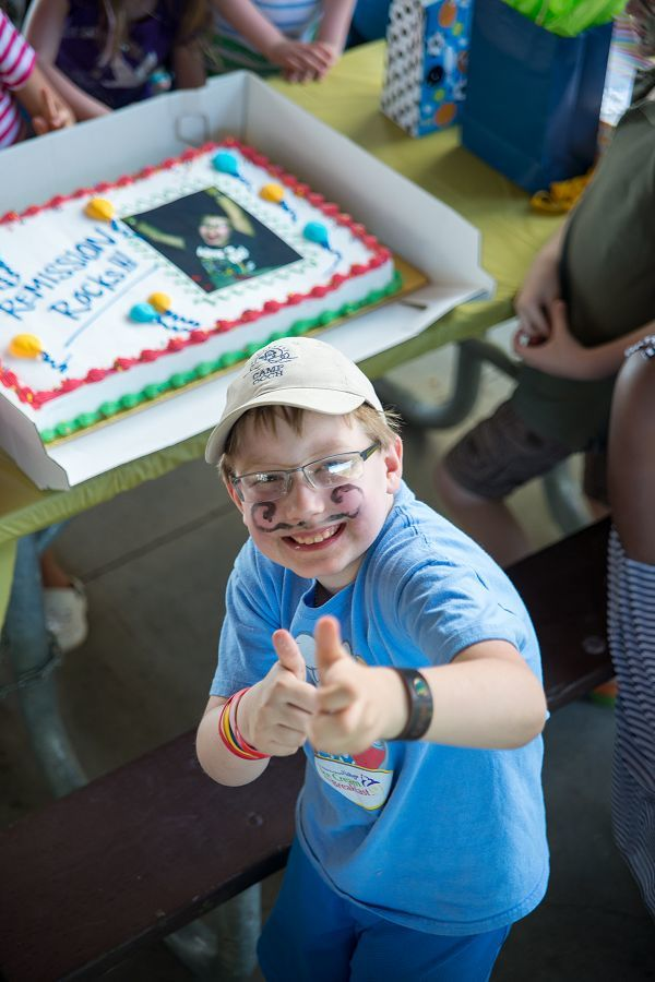 After three years of treatment, Ethan Howcroft celebrates being cancer-free (photo: Pat Trudeau)