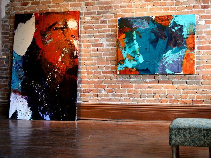 """End of Daze"" by Rebecca Padgett is on display at Gallery in the Attic (photo: Elizabeth Fennell, Gallery in the Attic)"