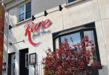 Rare Grill House is located at 166 Brock St. in Peterborough (photo: Julie Gagne Photography)