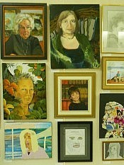 Each portrait in the exhibition portrays a living person who is also a resident of the City or County of Peterborough