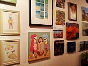 The Little Red Hen group has got everything from pop art to classic portraiture to postcards