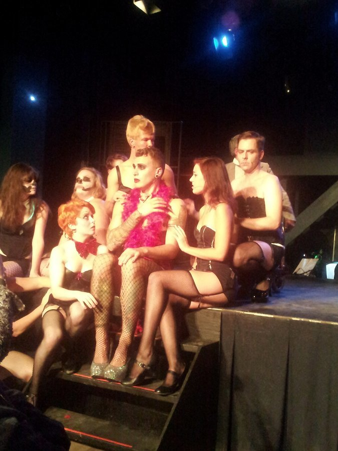 The cast of the motley collective's production of The Rocky Horror Show (photo: Sam Tweedle)
