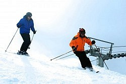 Just a short drive north of Peterborough, Sir Sam's has some of the region's best downhill skiing
