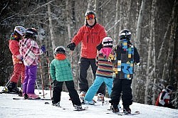 Sir Sam's Ski & Bike in Haliburton has a great family-friendly atmosphere