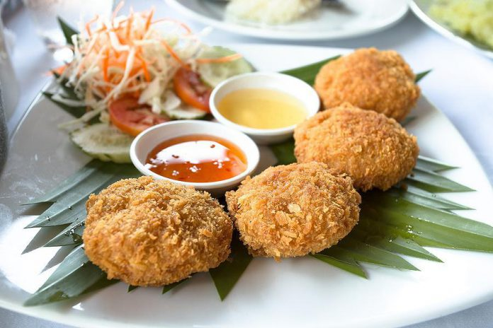 Saigon Shrimp Cakes