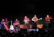 Tanah Haney, Michael Ketemer, Rob Fortin, Susan Newman, and John Hoffman performing as Carried Away