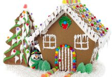 There's nothing like a traditional gingerbread house to get you in the Christmas spirit
