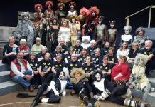 "The cast and crew of the Peterborough Theatre Guild production of ""Cats"" (photo: Sam Tweedle / kawarthaNOW)"