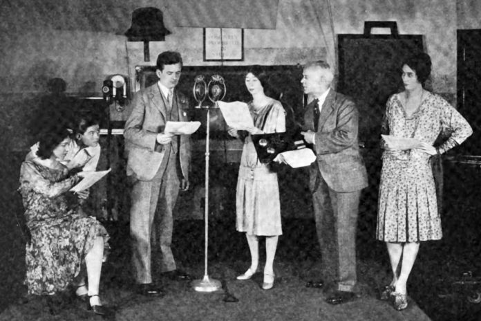 Trent Radio has been producing original live radio dramas supported by a grant by Community Radio Fund of Canada. Like this NBC live radio play broadcast from the 1920s, most early radio programs were broadcast live because recording technology was primitive and expensive.