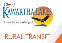 The City of Kawartha Lakes Rural Transit Pilot Project will end on June 27, 2015. City councillors voted to terminate the rural transit service, which was temporarily funded through a provincial grant program, rather than raise municipal taxes to keep the service operating.