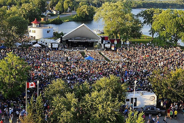 "in July 2012, Canadian pop superstar Carly Rae Jepsen (""Call Me Maybe"") drew the largest crowd ever for Peterborough Musicfest, with 15,000 attendees (photo courtesy of Peterborough Musicfest)"
