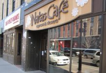 Natas Café, along with Black Honey and The Whistle Stop, now accept Trent University's student card for payments. The three downtown Peterborough merchants were chosen by Trent students in a recent survey. (Photo courtesy of Peterborough DBIA.)