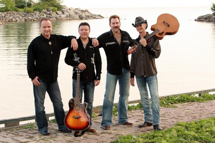 Toronto-based band Hotel California authentically performs the music of The Eagles at Peterborough Musicfest in Del Crary Park on Wednesday, July 1