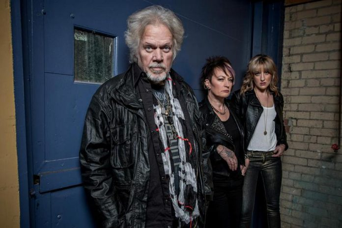 Randy Bachman's new power trio includes drummer Dale Anne Brendon and bassist Anna Ruddick