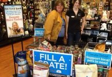 While local businesses such as Pet Valu and Pet Supply Warehouse have been generous in helping the pet food bank, supplies are low and the organization is seeking donations from individuals (photo courtesy of Peterborough Pet Food Bank)