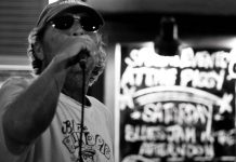 Phil Marshall performing at the Pig's Ear Blues Jam, which he founded to raise money for those in need (photo: Phillip Connor)