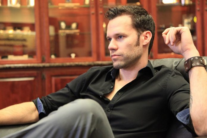 Canadian country musician Chad Brownlee performs at Peterborough Musicfest in Del Crary Park on Wednesday, July 15