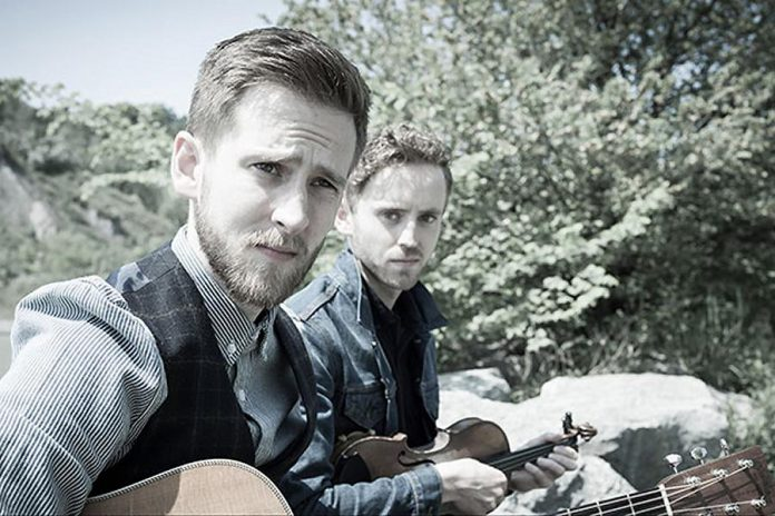 Kingston natives John and James Abrams perform at Peterborough Musicfest in Del Crary Park on Saturday, July 11