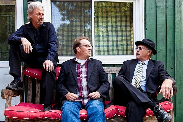 Alan Black, Rick Fines, and Gary Peeples performed as acoustic blues trio Jackson Delta for 15 years