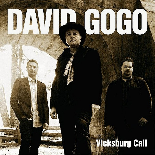 "David Gogo's 14th solo record ""Vicksburg Call"" will be released in September 2015"