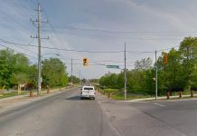 The northbound lane of Ashburnham just north of Marsdale will be closed from October 5 to 23