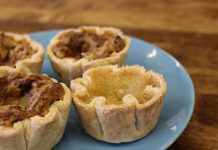 Butter tarts from End of the Thread Cafe in Brighton
