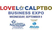 The LoveLocalPtbo Business Expo takes place September 9 from noon to 7 p.m. at the Morrow Building in Peterborough