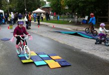Peterborough's first Fun Street event took place on Stewart Street in May, and GreenUP is organizing another Fun Street event on Saturday, September 26 that takes place on Douro Street in Peterborough's East City (photo: GreenUP)
