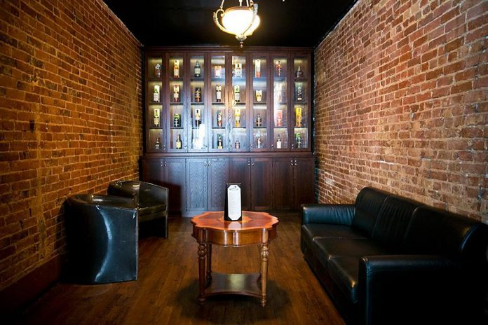 Although new owner Chris Nickle has expansion plans for The Oxford Parlour & Patio, the venue will continue to focus on whiskey and provide the private whiskey tasting room (photo courtesy of Chris Nickle)
