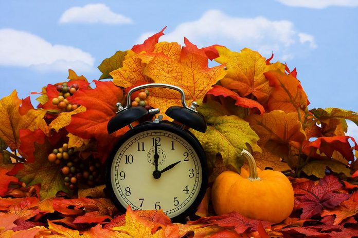 Daylight Saving Time comes to an end this weekend