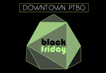 A wide range of Downtown Peterborough stores, restaurants, and services are participating in Black Friday on November 27