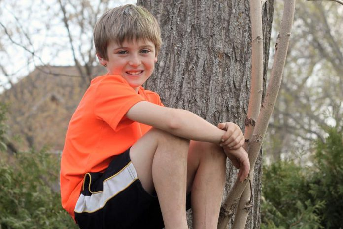 When nine-year-old Eli Partington was admitted to Peterborough Regional Health Centre with extremely high blood sugar, the team at PRHC's Paediatric Outpatient Clinic helped the Partington family understand Eli's diagnosis of Type 1 Diabetes (photo: Kristian Partington)
