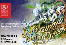 "The Peterborough Symphony Orchestra presents ""A Midsummer Night's Dream"" at Showplace on November 7, featuring the music of Mendelssohn with narration by Linda Kash and a performance by soprano Melody Thomas"