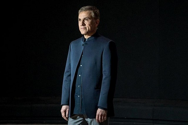 Christopher Waltz as villain Franz Oberhauser