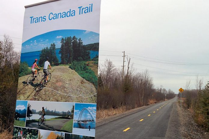 The final section of the Trans Canada Trail connecting Peterborough and Hastings has been officially opened for use