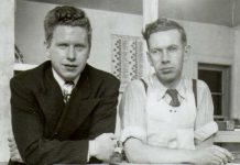 At the February meeting of the Kawartha Family Business Group, Jane Ulrich will be telling the story of family business FisherCast Global, founded in 1942 by her father Bill (right) and operated with brothers Frank (left) and Chester (photo courtesy of Jane Ulrich)