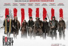 """The Hateful Eight"", Quentin Tarantino's eighth film, opened in theatres on December 31, 2015"