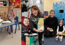 Three children from local daycares were selected as winners of a colouring contest to promote hand washing, organized by the Haliburton, Kawartha, Pine Ridge District Health Unit