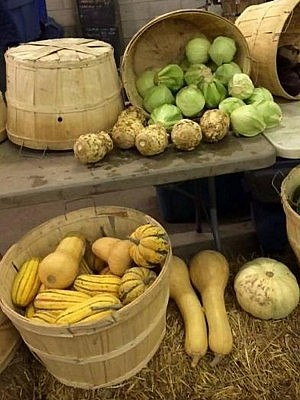 At the Peterborough Farmers' Market, you can enjoy locally grown food year round (photo courtesy of Peterborough Farmers' Market)