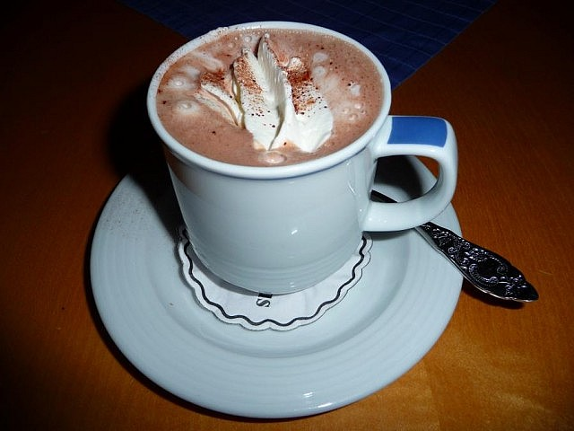 Drop by your favourite Kawarthas cafe for a hot chocolate!