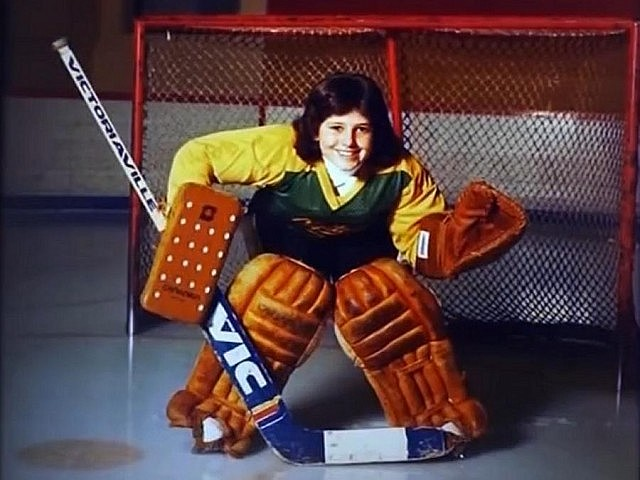 Manon Rhéaume has been passionate about hockey ever since she was a young girl growing up in Quebec