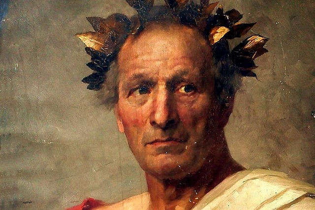 Julius Caesar, imagined in this 1892 portrait by artist Clara Grosch, ordered his astronomer to create a new simplified calendar that resulted in the leap year