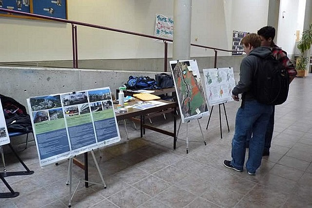 Beginning in November 2012, extensive consultations on the Trent Lands Plan were held with students, alumni, faculty and staff, the municipalities, and the general community (photo: Trent University)