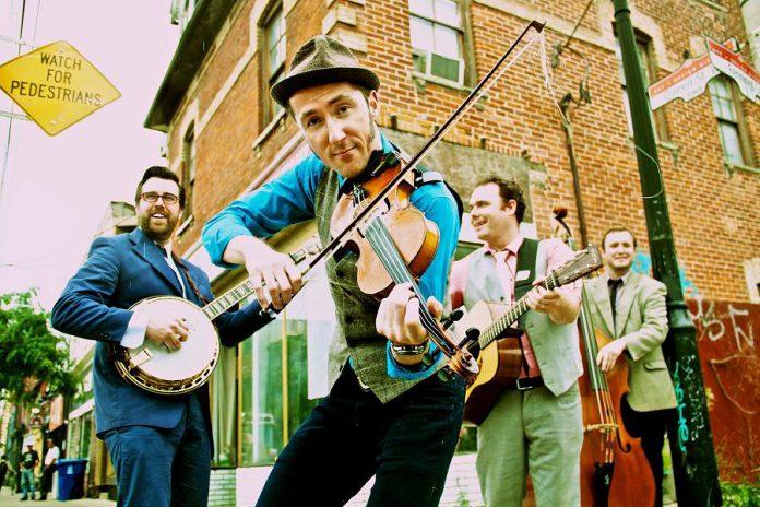 Folk Under The Clock presents Gordie MacKeeman & His Rhythm Boys at Peterborough's Market Hall on Sunday, April 24