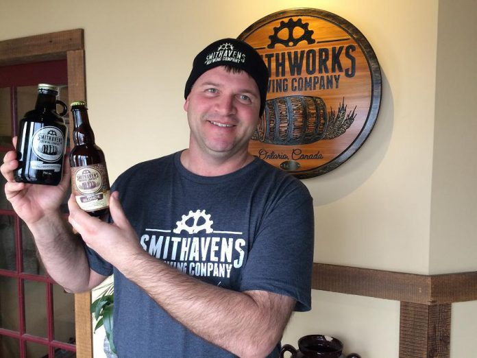 Although their name is changing from Smithworks to Smithhavens, co-owner Randy Smith says that the family-run craft brewery produces the same great beer (photo: Eva Fisher)