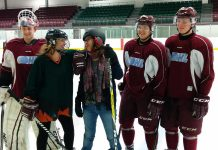 Local celebrities Michelle Ferreri and Linda Kash will be among volunteers at the Petes' first home playoff game against the North Bay Battalion raising awareness about Peterborough's Community Counselling and Resource Centre