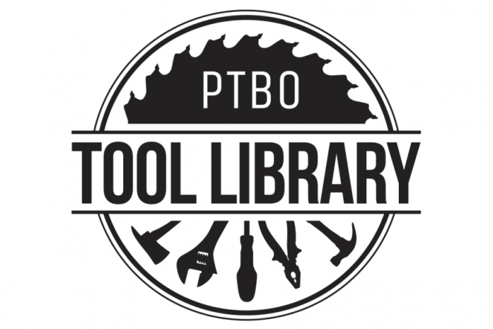 For an affordable annual fee, the Peterborough Tool Library will loan household and construction tools to its members (graphic: Peterborough Tool Library)