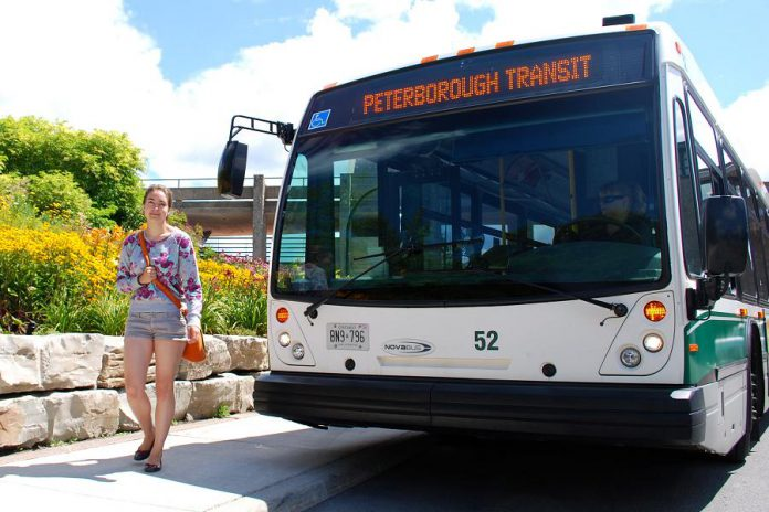 Learning how to read a transit map and schedule, and using public transit is a life skill that will help prepare youth to move independently through their community. Grade 8 Transit Quest provides students with a free bus pass for the March Break and an opportunity to learn how to use our local transit system. (Photo: Brianna Salmon, GreenUP)